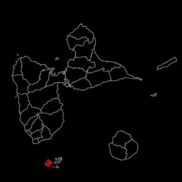 Plan Local d'Urbanisme de TERRE-DE-BAS - Zonage