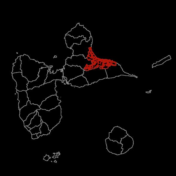 Plan Local d'Urbanisme de LE MOULE - Zonage