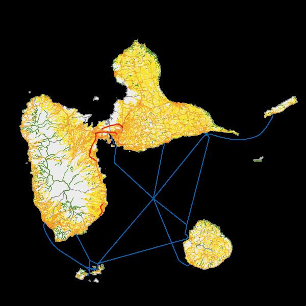 BDTOPO® 2019 - Trançon route