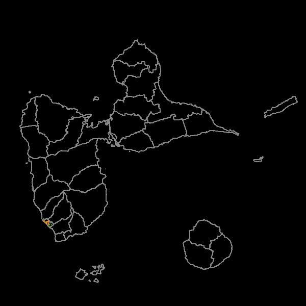 Plan Local d'Urbanisme de BASSE-TERRE - Prescriptions surfaciques