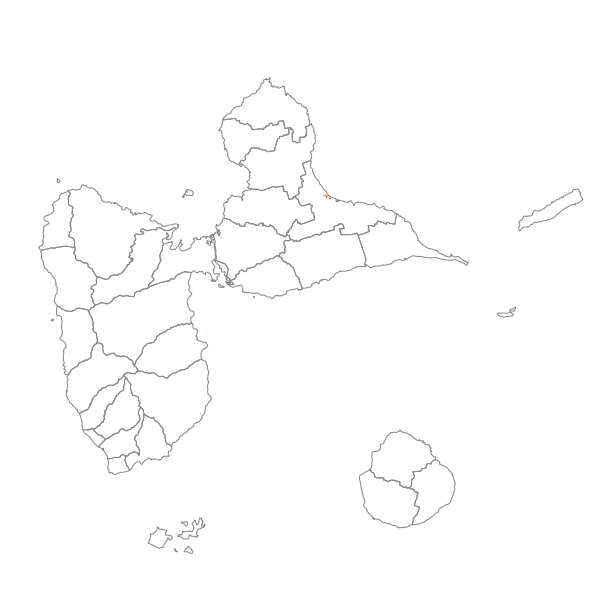 Plan Local d'Urbanisme de LE MOULE - Prescriptions surfaciques
