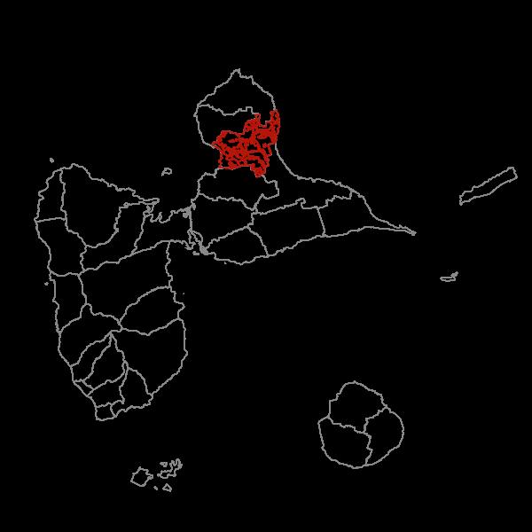 Plan Local d'Urbanisme de PETIT-CANAL - Zonage