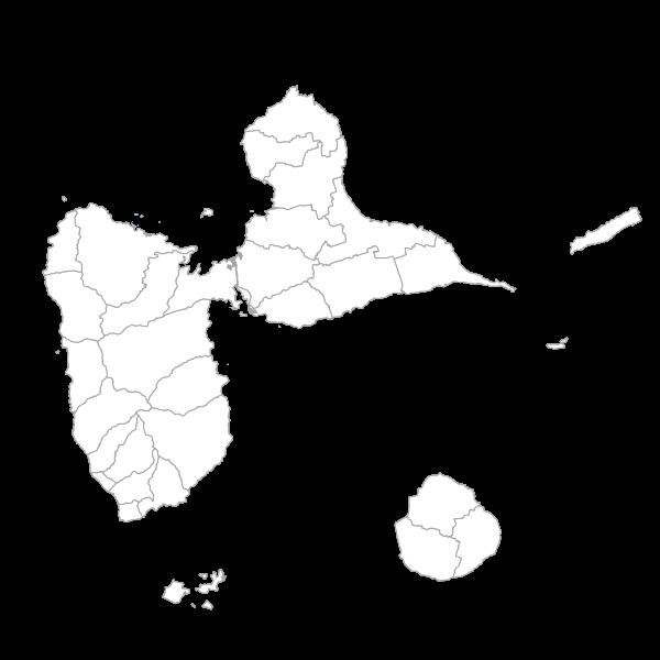 Cartographie des formations végétales de Guadeloupe 2010