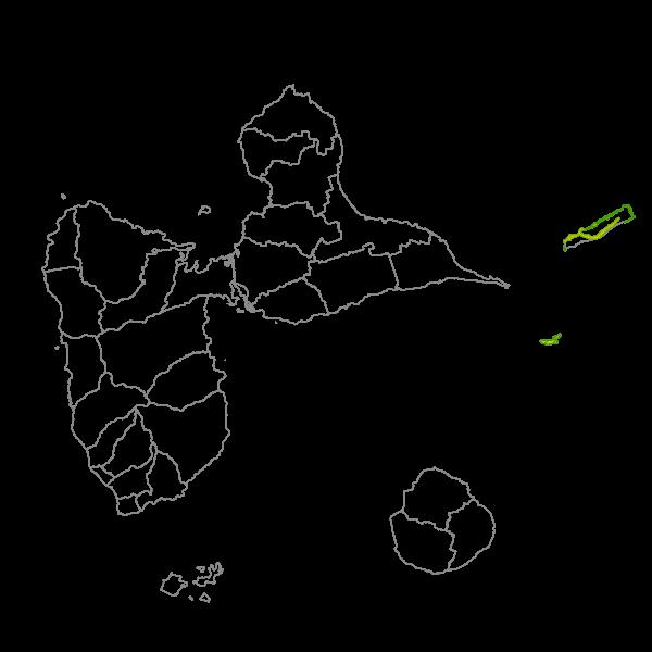 Plan Local d'Urbanisme de LA DESIRADE - Prescriptions surfaciques
