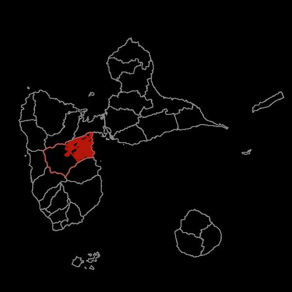 Plan Local d'Urbanisme de la commune de PETIT-BOURG - Zonage