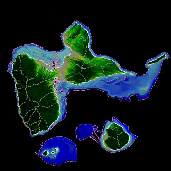 Sentier littoral de Guadeloupe - Typologie et usage