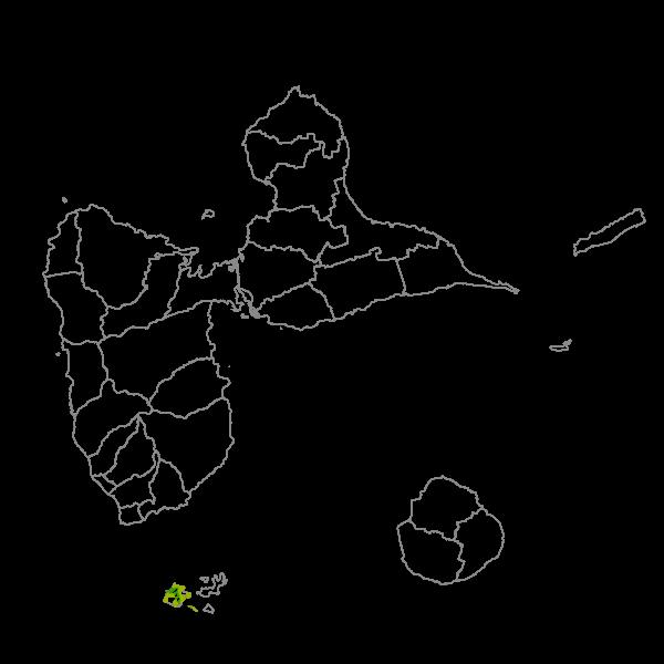Plan Local d'Urbanisme de TERRE-DE-BAS - Prescriptions surfaciques