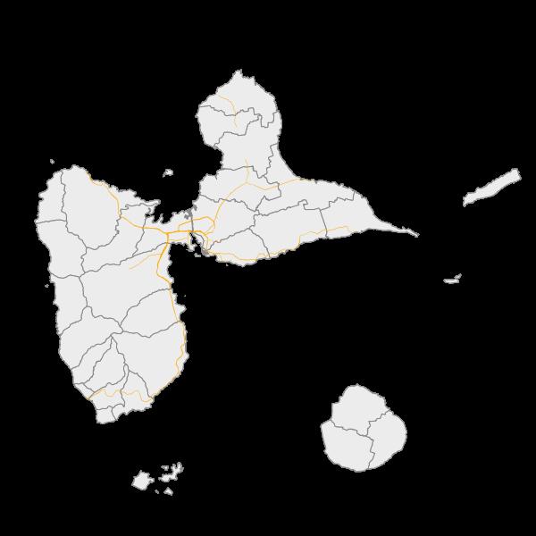 Les zones exposées aux bruits (carte de type C - Lden)
