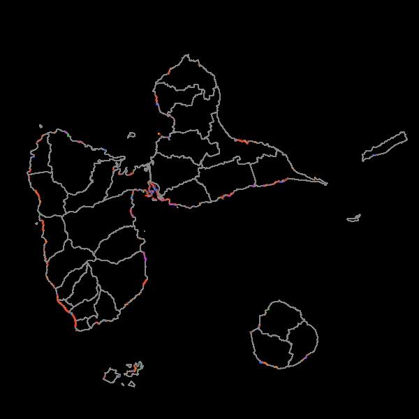 Ouvrages et aménagements littoraux Guadeloupe