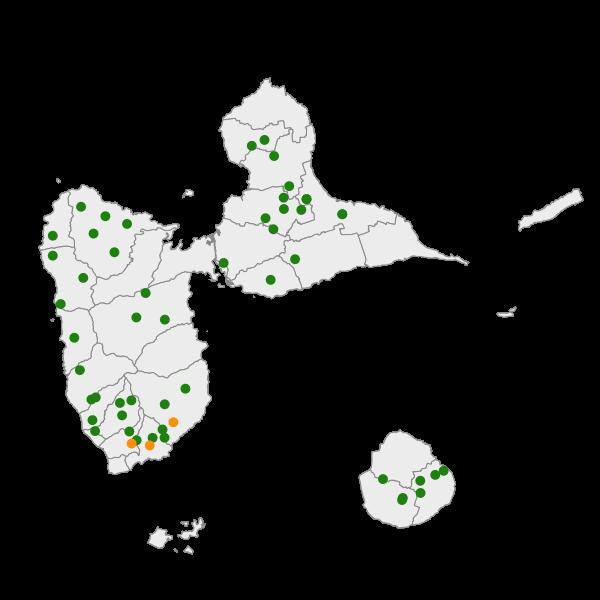 Pesticides (chlordécone) dans les unités de traitements de l'eau potable (AEP)