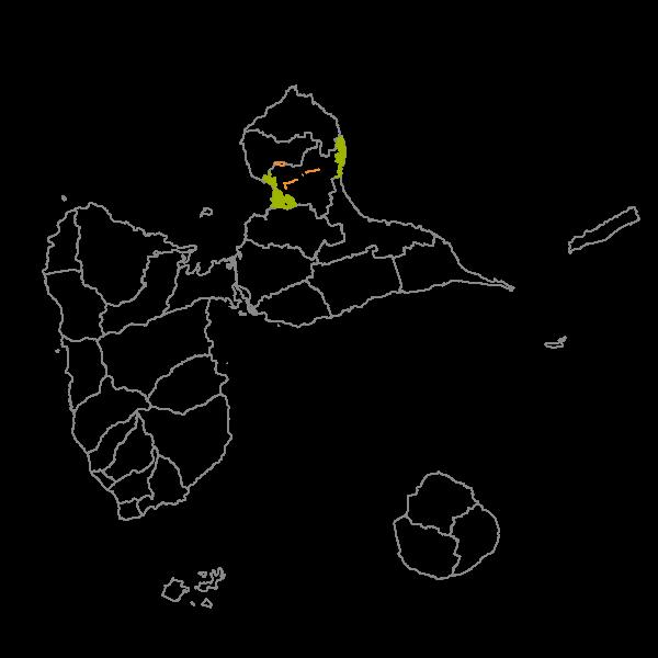 Plan Local d'Urbanisme de PETIT-CANAL - Prescriptions surfaciques