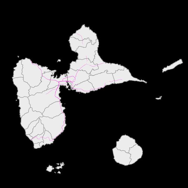 Les zones exposées aux bruits (carte de type C - Ln)