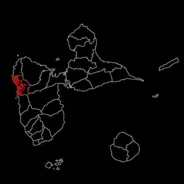 Plan Local d'Urbanisme de POINTE-NOIRE - Zonage