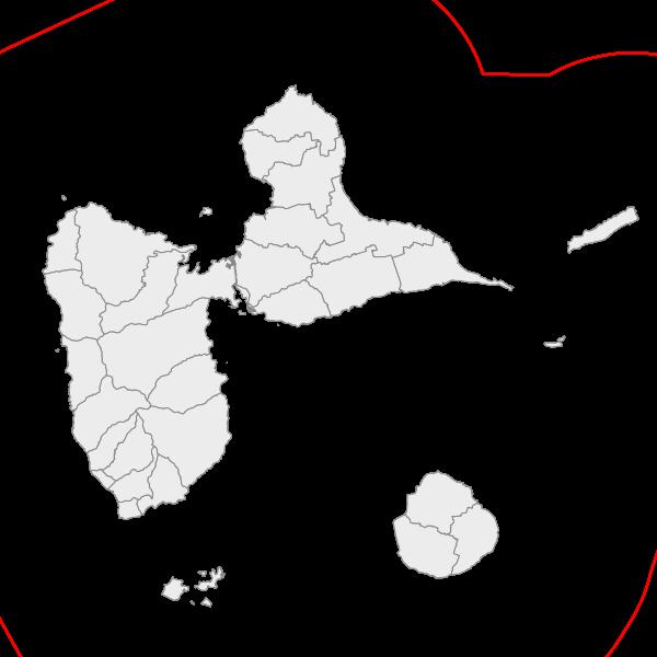 Délimitation maritime - Limite extérieure de la mer territoriale (12 milles)
