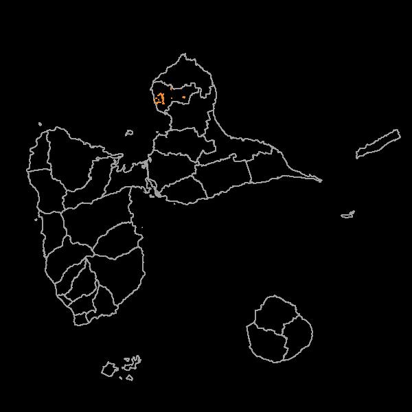 Plan Local d'Urbanisme de PORT-LOUIS - Prescriptions surfaciques