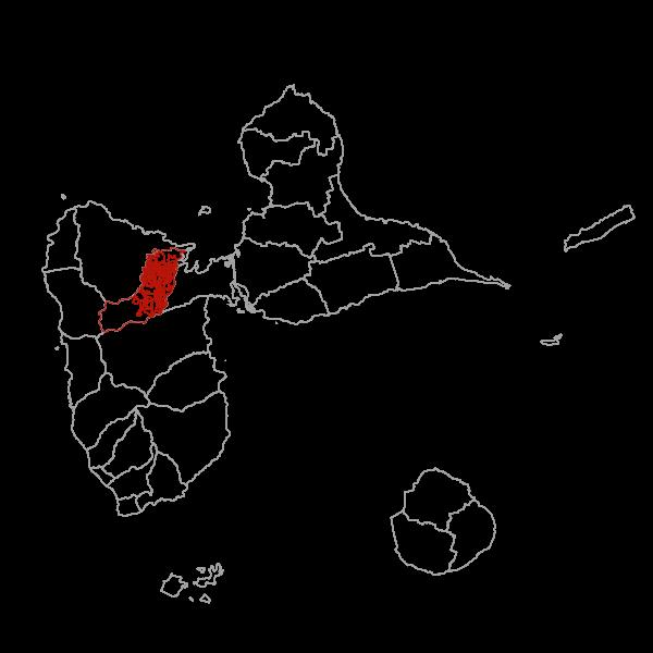 Plan Local d'Urbanisme de LAMENTIN - zonage